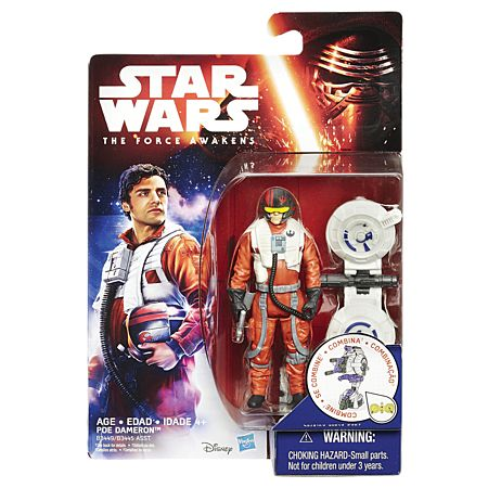 "The Warehouse - Star Wars Episode 7 standard 3.75"" action figures"