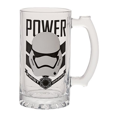 The Warehouse - Star Wars First Order Stormtrooper glass stein