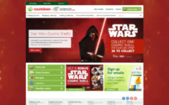 Star Wars Cosmic Shells - Countdown Website