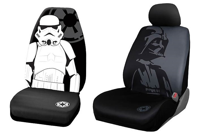 Deck Out Your Car With Some Star Wars Style Vehicle Accessories From MightyApe You Can Even Have Darth Vader Riding In Rear Passenger Seat