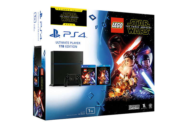 PS4 1TB Star Wars Bundle