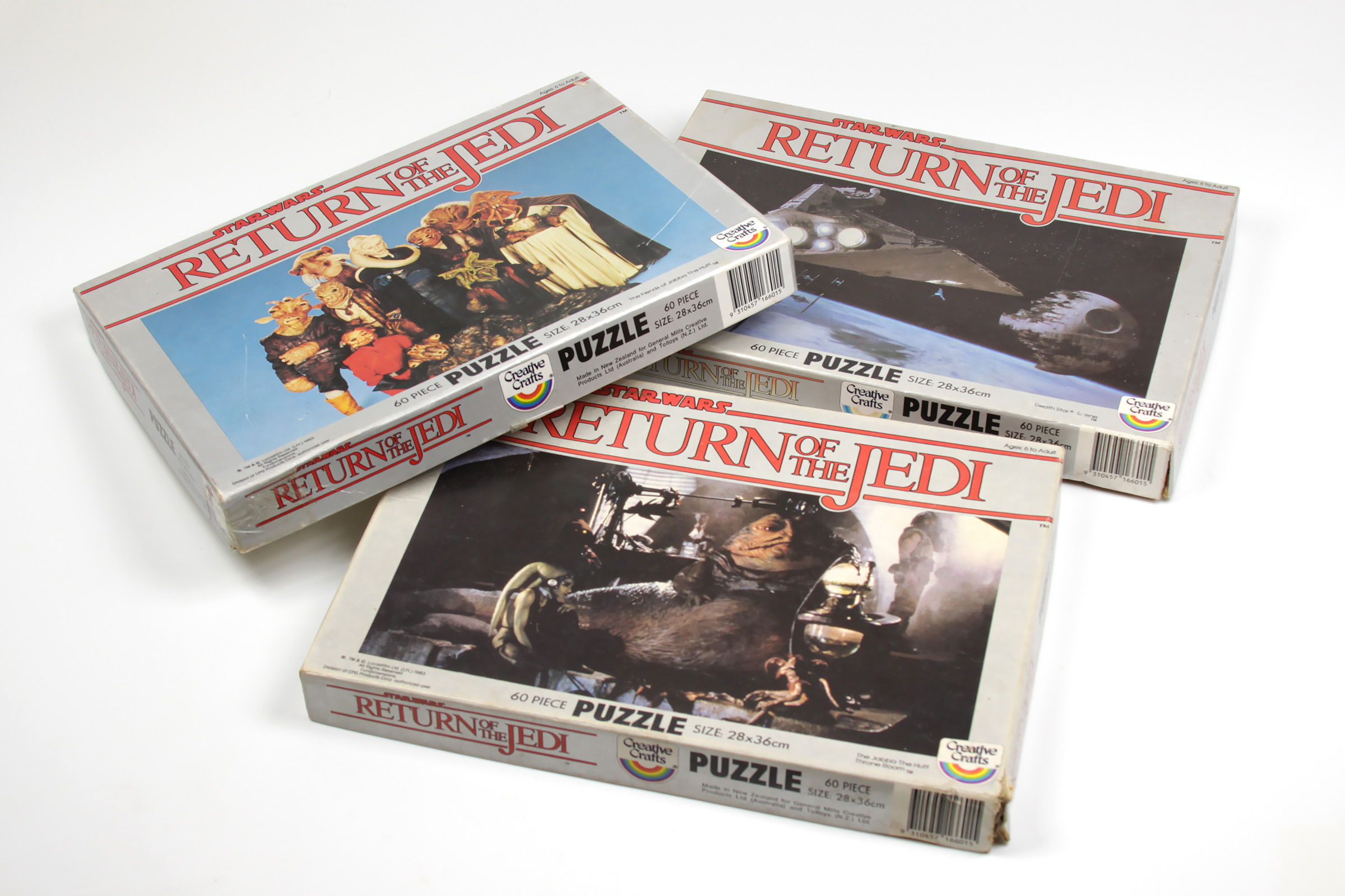 Creative Craft/Toltoys Return of the Jedi Jigsaw Puzzles