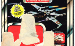 Toltoys X-Wing Fighter Die-Case Vehicle Cardback