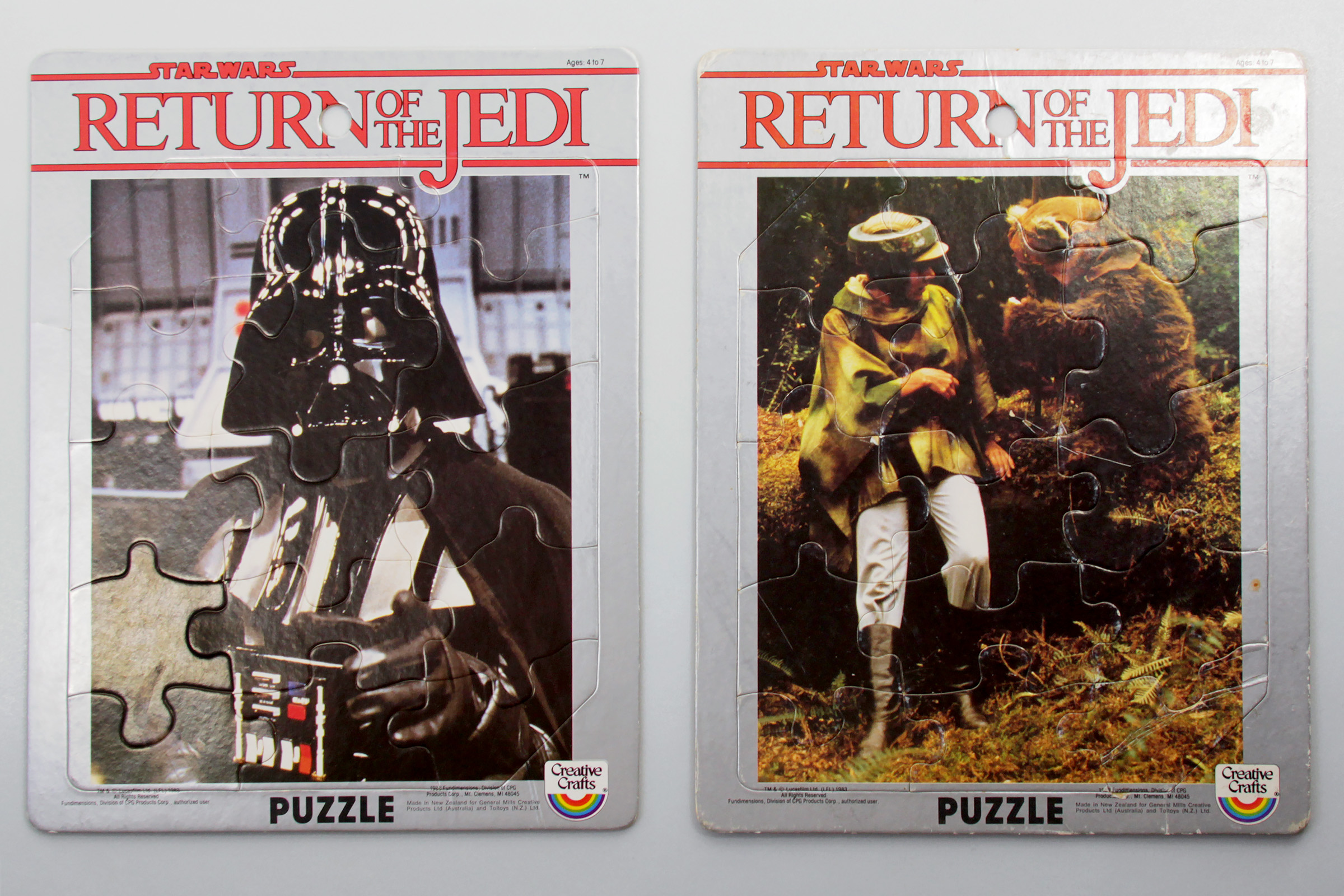 Creative Crafts/Toltoys Return of the Jedi Jigsaw Puzzles