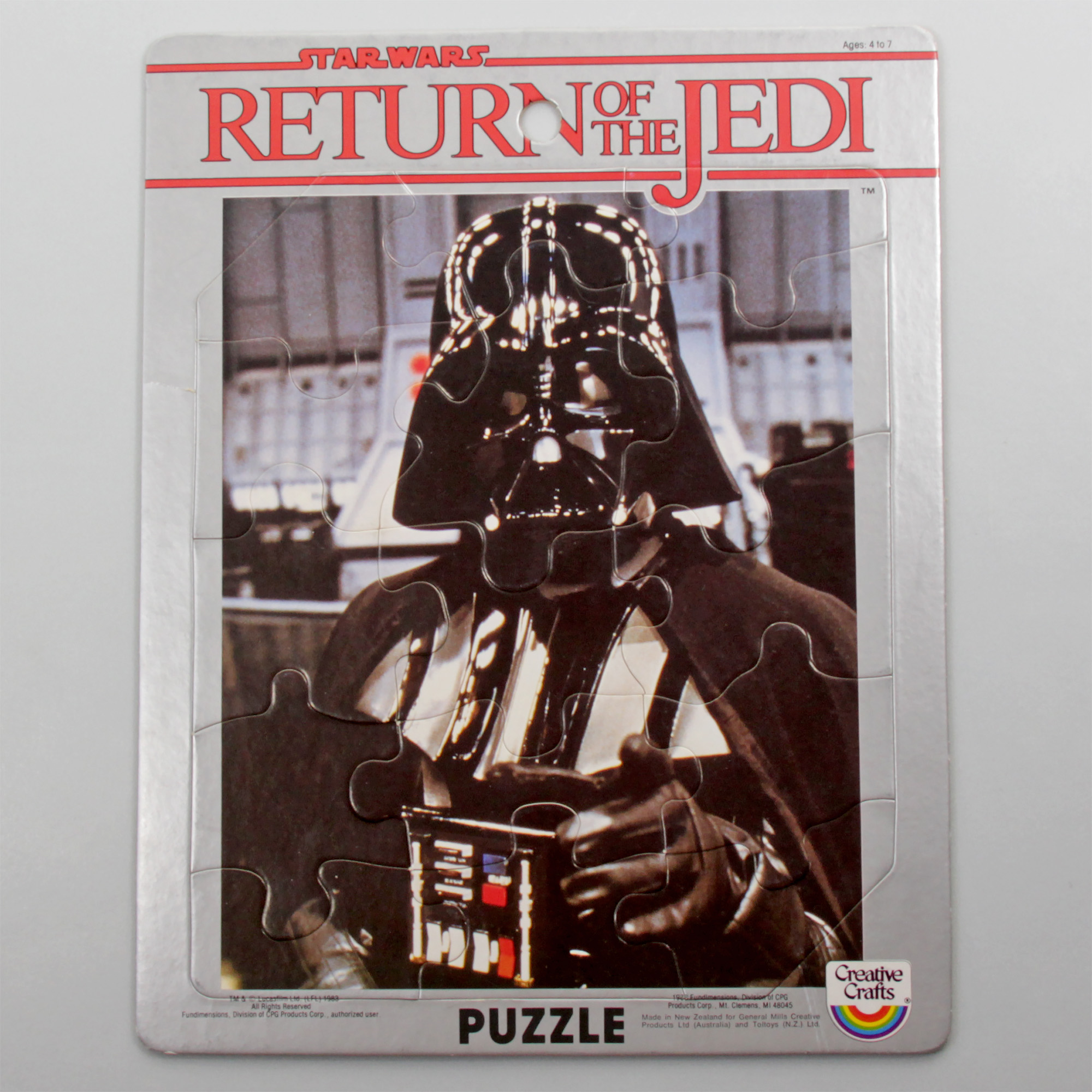 Creative Crafts/Toltoys Return of the Jedi Jigsaw Puzzle