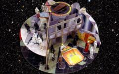 Toltoys New Zealand Cardboard Death Star Playset