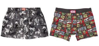 Star Wars Underwear at The Warehouse