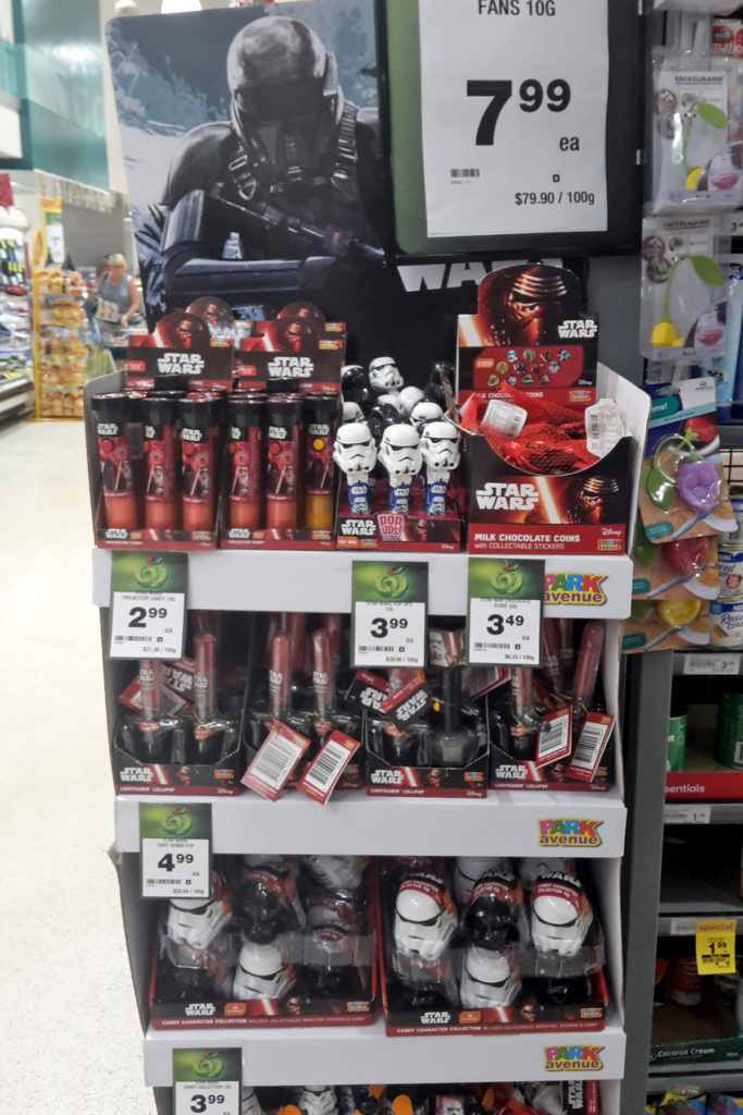 Park Avenue Rogue One products at Countdown
