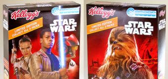 Star Wars Kellogg's Cereal at New World