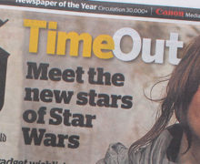 Rogue One in NZ Herald Time Out