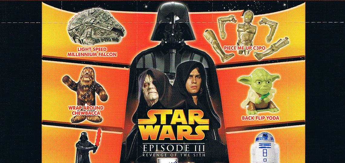 Burger King Revenge Of The Sith Promotion 2005 Swnz Star Wars New Zealand