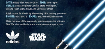 adidas Star Wars Product Christchurch Event