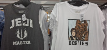 Women's Star Wars T-Shirts at K-Mart