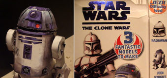 The Clone Wars: Press Out 'n' Build