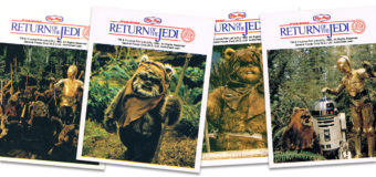Return of the Jedi Ice Block and Stickers (1983)