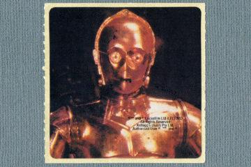 Kellogg's Cornflakes Star Wars Stickers