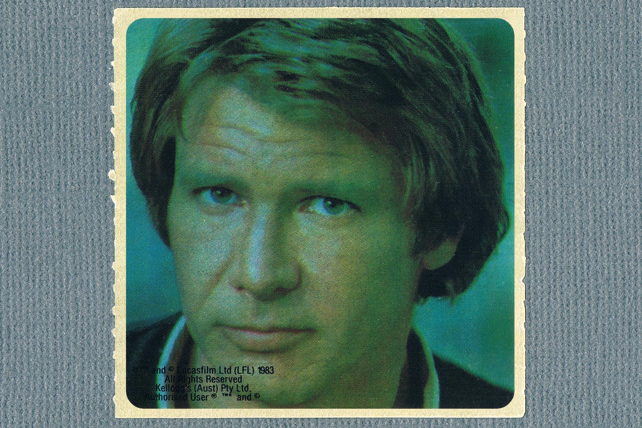 Kelloggs Sticker - Han Solo