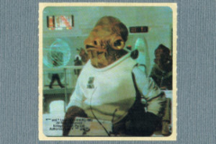 Kelloggs Sticker - Admiral Ackbar