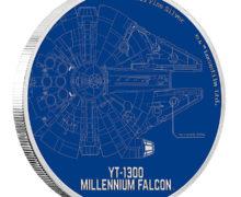Millennium Falcon Coin from NZ Mint