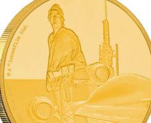 Luke Skywalker Coin from NZ Mint