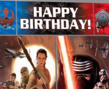 New Star Wars EpVII Party Supplies at Spotlight