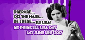 NZ Princess Leia Day Updates