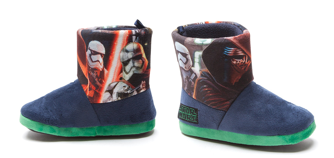 dc5d9192ab6 Number One Shoes have a few Star Wars footwear items in their range (mainly  slippers and jandals). A recent addition are these kid s The Force Awakens  ...