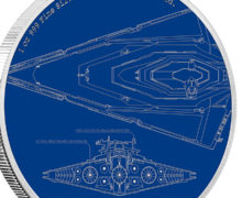 Star Destroyer Coin from NZ Mint