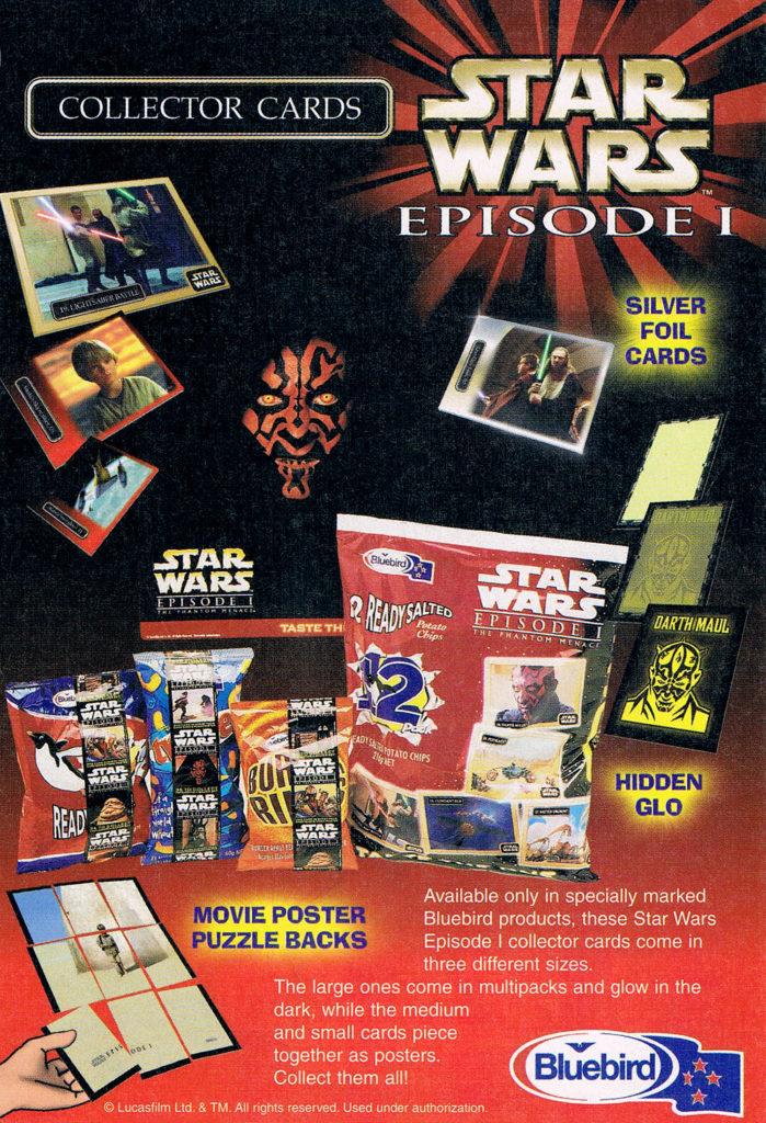 Bluebird Star Wars Gold Cards