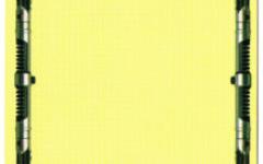 Blank-backed Bluebird gold-bordered card