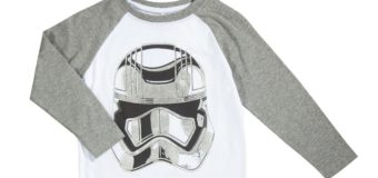 Kids Captain Phasma long sleeve tee