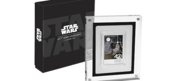 Star Wars 40th Anniversary Coin from NZ Mint
