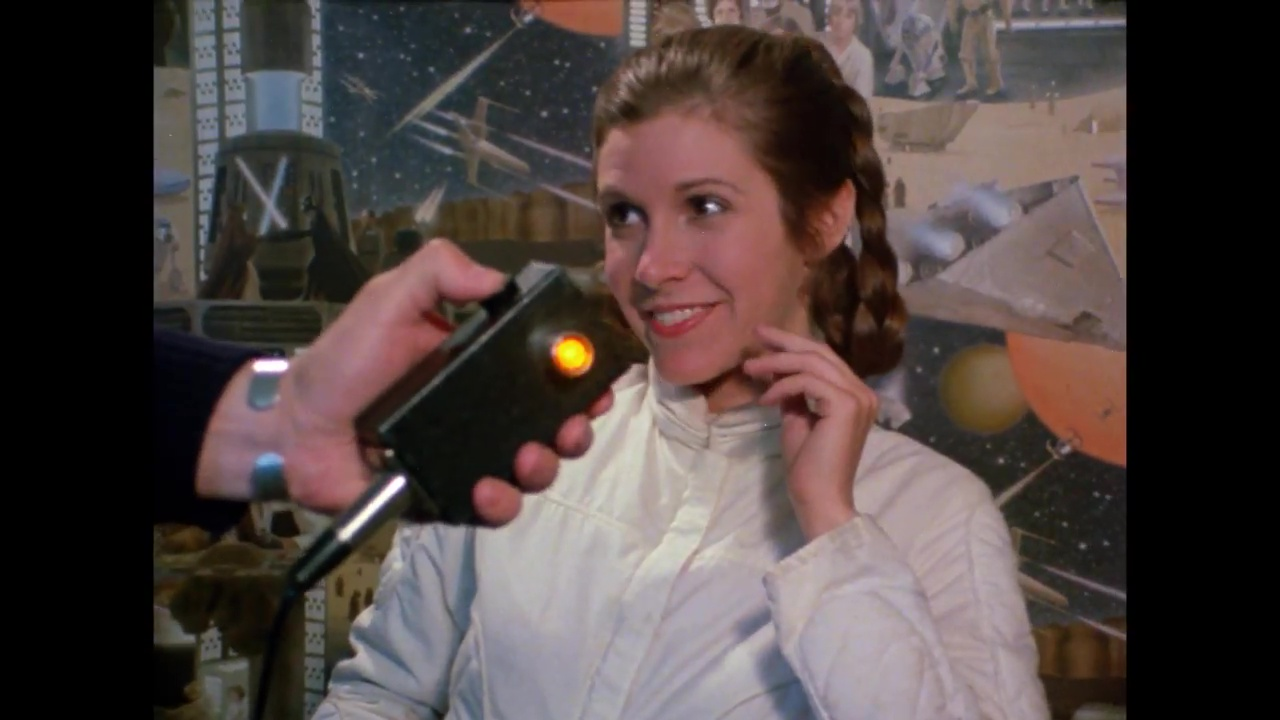 Carrie Fisher, Princess Leia, The Empire Strikes Back