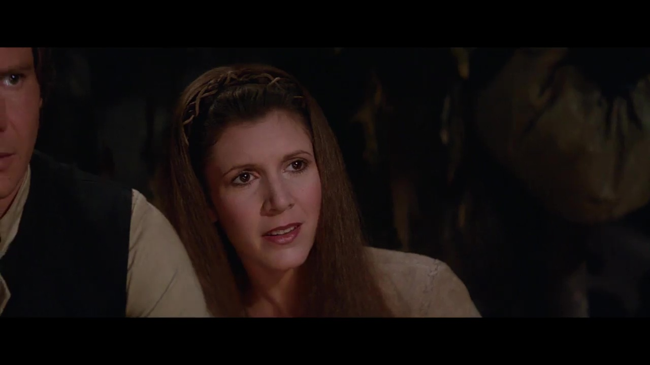 Carrie Fisher, Princess Leia, Return of the Jedi