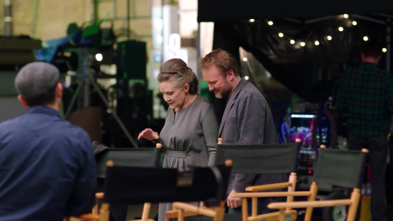 Carrie Fisher, General Leia, The Last Jedi
