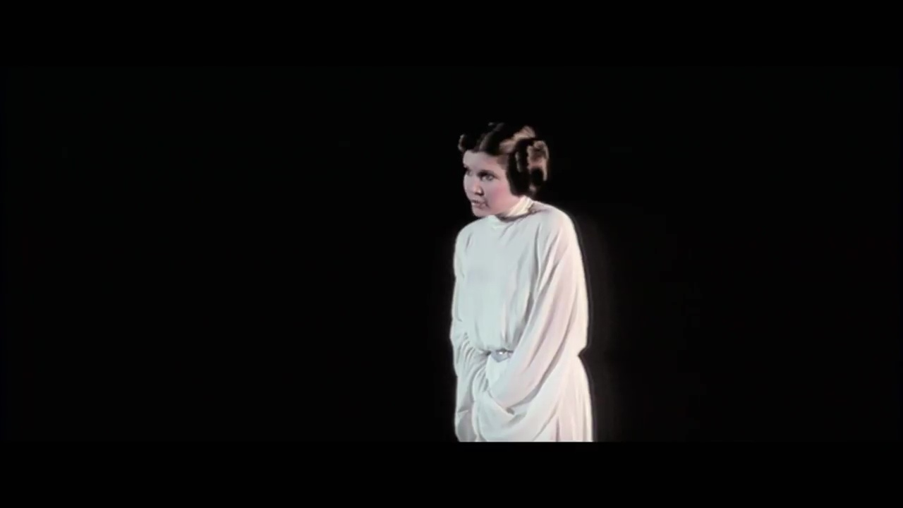 Carrie Fisher, Princess Leia, Star Wars: A New Hope