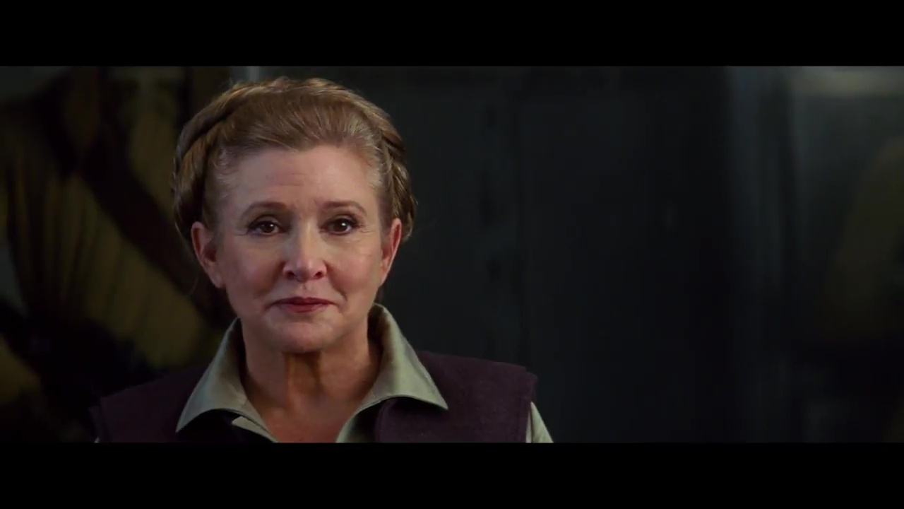 Carrie Fisher, General Leia, The Force Awakens