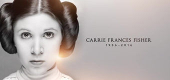 Carrie Fisher Tribute at Celebration Orlando