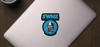 Vinyl Stickers in SWNZ Merchandise Store