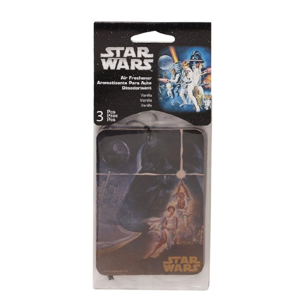 Star Wars Air Freshener card 3-pack at The Warehouse