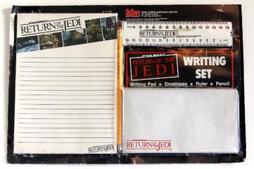 Bing Harris Sargood Star Wars / Return of the Jedi Writing Set
