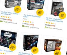 X-Wing and Armada Expansions on Sale