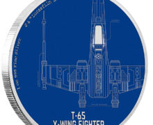 X-Wing Coin from NZ Mint