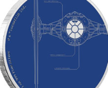 TIE Fighter Coin at NZ Mint