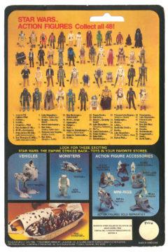 The Empire Strikes Back 48-back cardback