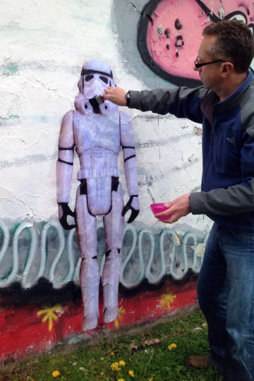 Stormtrooper Project: Welsh Trooper with Owner