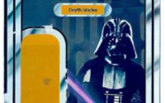 NZ Toltoys 12-back Darth Vader cardback