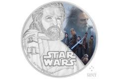 NZ Mint The Last Jedi Coin - Luke Skywalker