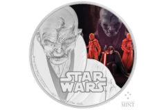 NZ Mint The Last Jedi Coin - Snoke
