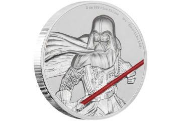 Darth Vader Ultra High Relief Coin